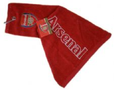 Official Arsenal Football Club Trifold Golf Bag Towel
